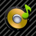music, note, sfx, sound, speaker