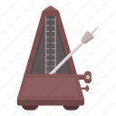 instrument, metronome, musical, rhythm, tuning icon
