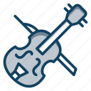 double bass, electrical amplifier, guitar, guitar music, musical instrument icon