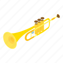 colorful, cute, d514, isometric, logo, object, trumpet