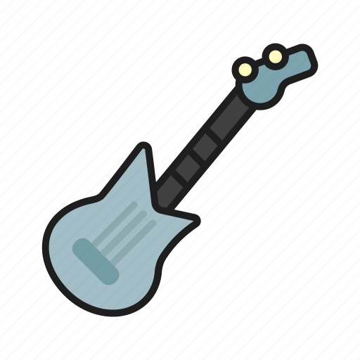 electro guitar, guitar, play on the guitar, rock icon