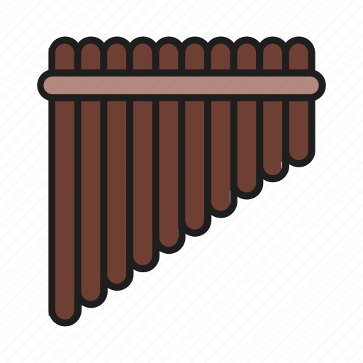 lips, musical instrument, panpipe, tool icon