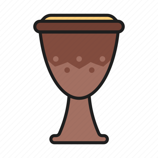 djembe, hit, musical instrument, play icon