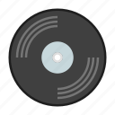 music, retro, song, vinyl icon