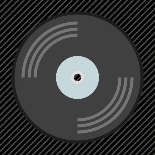 music, retro, song, vinyl icon