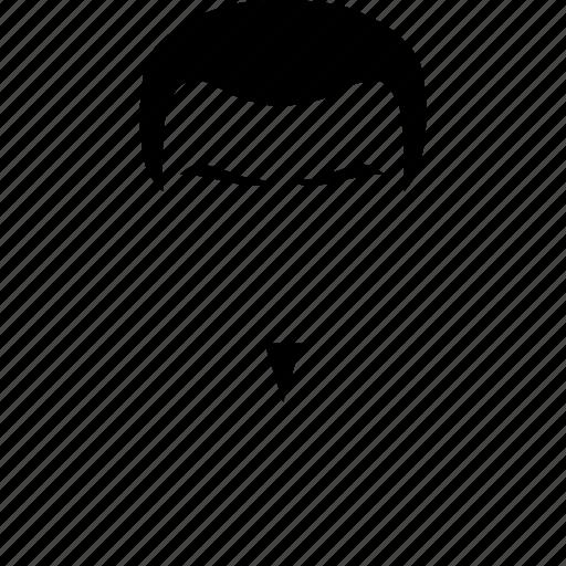 male, man, mustache, style, user icon