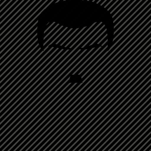 male, man, mustache, user icon