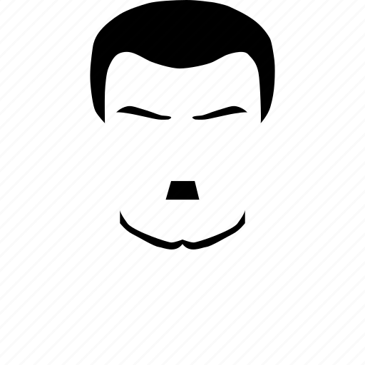 face, hair, male, man, mustache, style, user icon