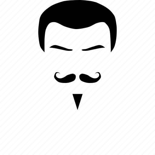 Mustache, face, hair, male, man icon - Download on Iconfinder