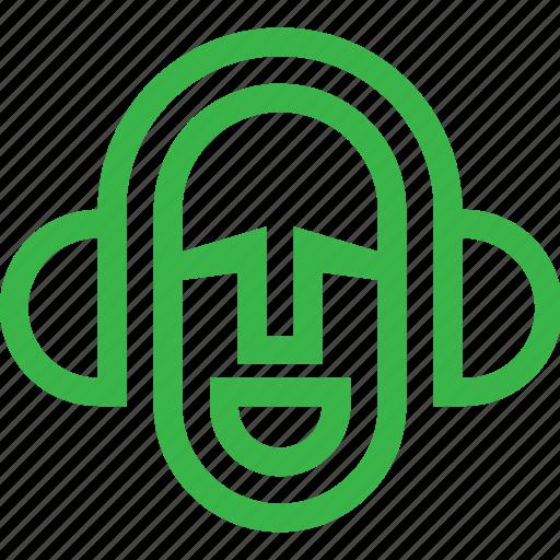 emoji, emotion, media, multimedia, music icon