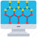 computer, nanotech, nanotechnology, pc icon