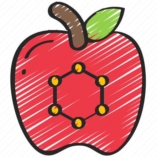 Apple, food, in, nanotech, nanotechnology icon - Download on Iconfinder