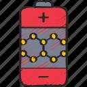 battery, materials, nano, nanotechnology icon