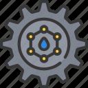 nanotechnology, process, settings icon