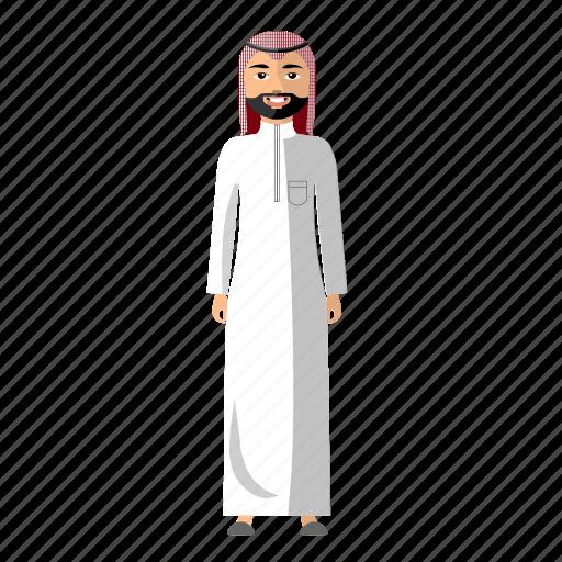 arabia, culture, human, man, nation icon