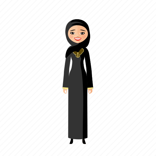 arabia, culture, human, nation, woman icon