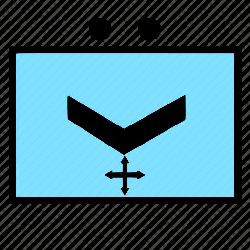 control, military, nato, section, uav icon