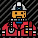 firefighter, fireman, helmet, jobs, rescue