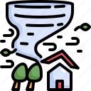 climate change, disaster, hurricane, natural disaster, nature, storm, tornado icon