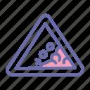landslide, erotion, avalanche, disaster2 icon