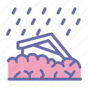 landslide, erotion, avalanche, disaster6 icon