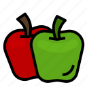 apple, aroma, fragrant, fruit, perfume, scent icon