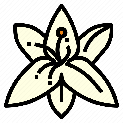 aroma, flower, fragrant, lily, perfume, scent, therapy icon