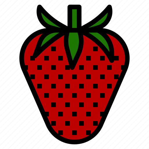 berry, fragrant, fruit, scent, strawberry icon