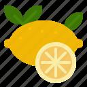 fragrant, oil, lemon, citron, scent, essential, lime icon