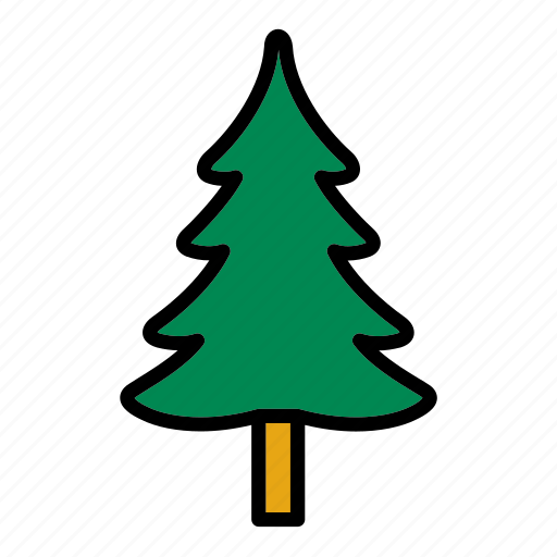 christmas, fir, flora, forest, nature, tree icon