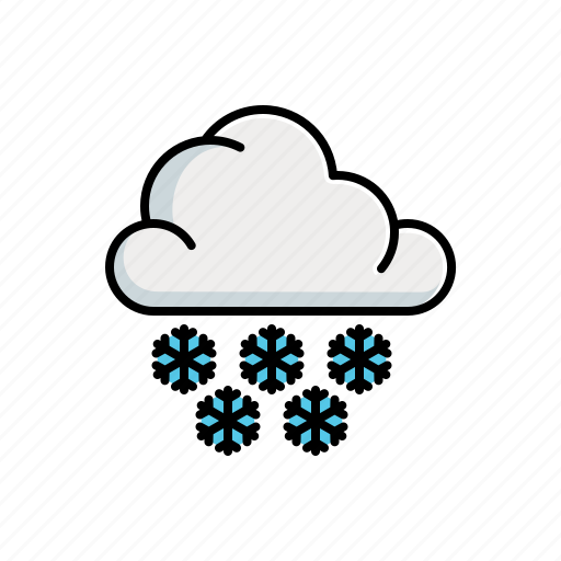 Cloudy, nature, snow icon - Download on Iconfinder