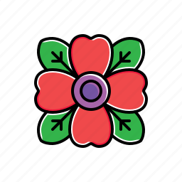 flower, garden, nature icon