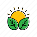 energy, natural, nature icon