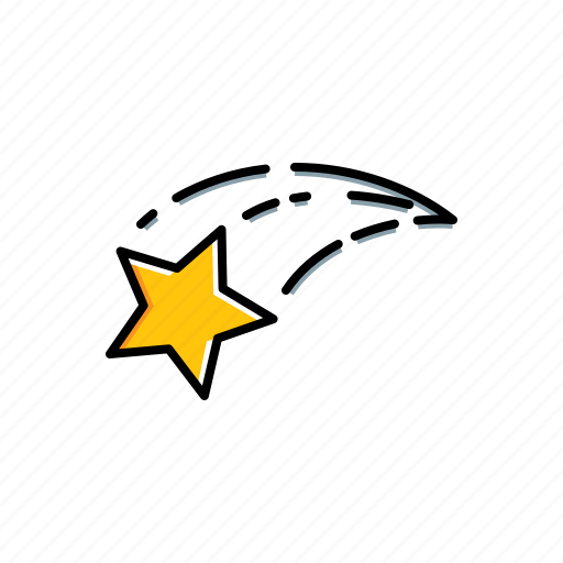 nature, star, weather icon