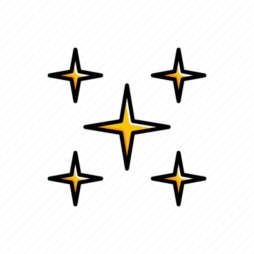 Nature, stars, weather icon - Download on Iconfinder