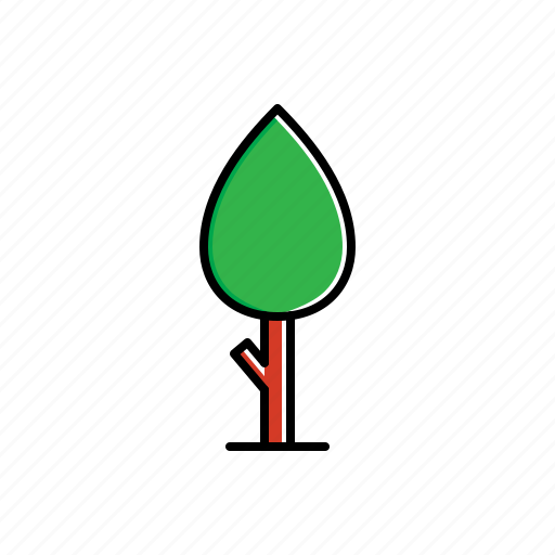 garden, nature, tree icon