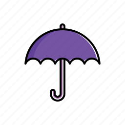 nature, umbrella, weather icon