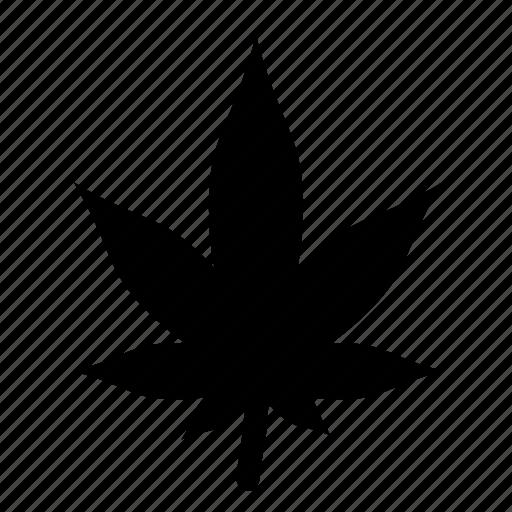 leaf, medical, medicine, weed icon