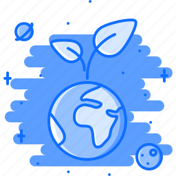 earth, eco, ecology, green, nature, planet, sprout icon