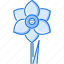 eco, ecology, flower, green, narcissus, nature icon