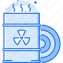 eco, ecology, green, nature, nuclear, waste icon