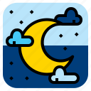 linght, moon, night, twilight icon