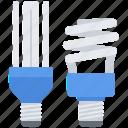 bulb, eco, ecology, energy, light, nature, saving icon