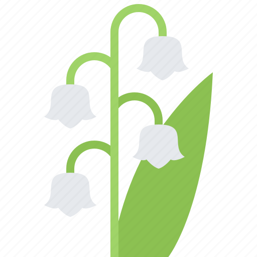 eco, ecology, flower, green, lily, nature, valley icon