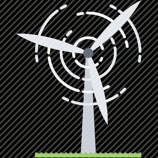 eco, ecology, generator, green, nature, wind icon