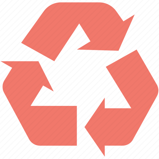 ecology, environmental care, recycle, recycling, reprocessing icon