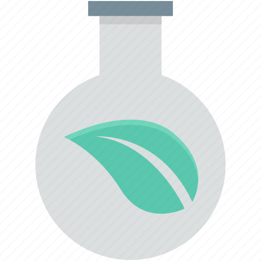 chemical, conical flask, ecology, flask, leaf icon