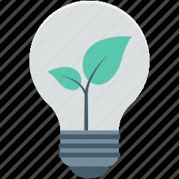 bulb, eco bulb, illumination, light, light bulb icon