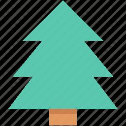 evergreen tree, fir tree, nature, pine tree, tree icon