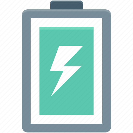 battery, battery charging, battery status, bolt, thunder icon